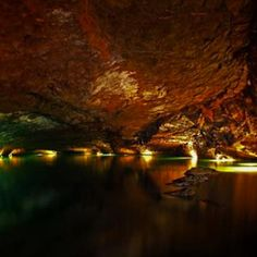 Lost Sea - Sweetwater, Tennessee   Take a glass-bottomed boat cruise on the Lost Sea, the largest underground lake in the United States. The lake is part of Craighead Caverns, which were once used by the Cherokee. You'll see Native American artifacts and rare geological formations called cave flowers as you walk through the caverns to the Lost Sea. The visible portion of the lake is just a small fraction of the Lost Sea.