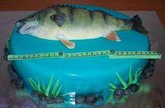 okoun , 3D dorty, fotopostupy | Dorty od mamy Techno, Fish, 3d, Pets, Animals, Alcohol, Animales, Animaux, Pisces