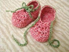 Laced Baby Booties $3