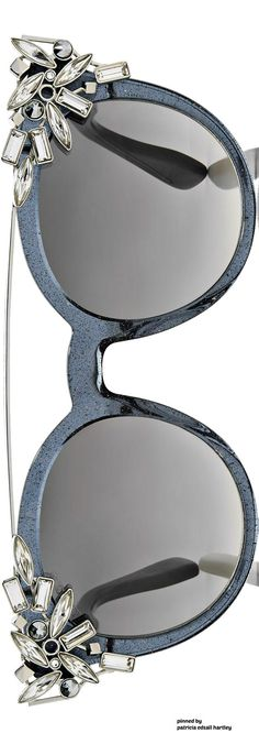 b486a3826d Jimmy Choo Grey Round Framed Sunglasses with Detachable Jewel Clip On Gucci  Sunglasses