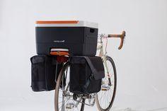 modular bike accessories by fietsklik aid everyday errands - designboom | architecture