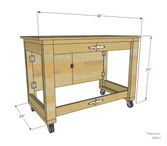 Pneumatic Addict : Folding Mobile Workbench - Video Tutorial