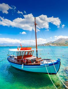 Sailing Ships, Boat, Travel To Greece, Dinghy, Boats, Tall Ships