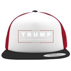 Trump Make America Great Again Foam Trucker Hat