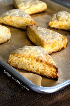 Gluten Free Cheddar Mustard Scones  {must try & make these soon; sound fabulous!}
