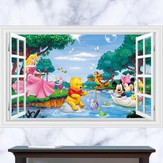Winnie the Pooh Wall Decal & Wall Stickers – the treasure thrift