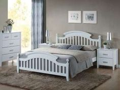 Features: The frame is made of wood and MDF and includes elastic slats embedded in flexible handles Colour: White Frame Material: Wood Wood Species: Retro Boutique, Framing Materials, Wood Species, Provence, Master Bedroom, Toddler Bed, Shabby Chic, Furniture, Interior