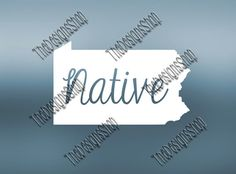 Pennsylvania Home State Svg Dxf Pdf Jpg Cut File by TheDesignsShop