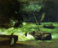 Off the Coast of Cornwall - George Inness 1887