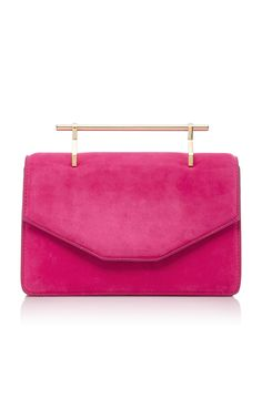 M2MALLETIER INDRE SUEDE BAG. #m2malletier #bags #shoulder bags #hand bags #suede #