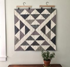 Patchwork quilt grey flying geese Ideas for 2019