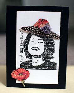 By Adora Concepcion for Hampton Art. Hampton Art, Wood Stamp, Beautiful Handmade Cards, Paper Artist, Graphic 45, Ink Pads, Clear Stamps, Art Blog, Scrapbook Pages