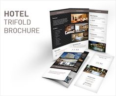 *Save with Bundle! Hotel Print Bundle 5 is also available.Hotel Trifold Brochure 5 Clean and professional trifold brochure for your hotel and hospitality business.Features: A4 and 8.5×11 Size tri-f...