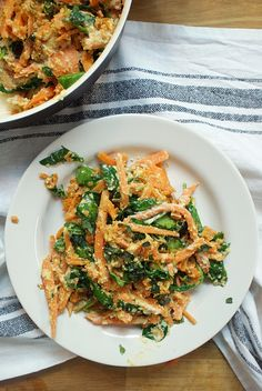 WEEKLY BITES - Spinach sweet potato noodles