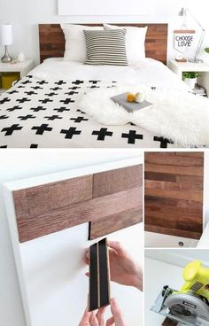 Bedroom Decor Ideas Diy Best Of Ikea Hack Stikwood Headboard Ikea Furniture, Furniture Makeover, Bedroom Furniture, Furniture Ideas, Inexpensive Furniture, Furniture Websites, Black Furniture, Furniture Stores, Contemporary Furniture
