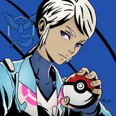 Pokemon Go   Team Leader Blanche by bigbrogabe.tumblr.com