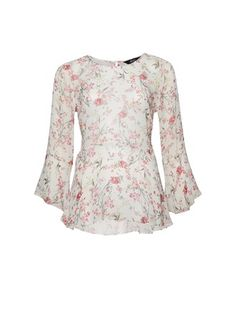 Find the right top for any occasion; blouses and shirts that transition from work to after-work drinks, casual printed tees and party-ready tops and tanks. Max Clothing, After Work Drinks, Frill Tops, Printed Tees, No Frills, Bell Sleeve Top, Floral, Casual, Shirts