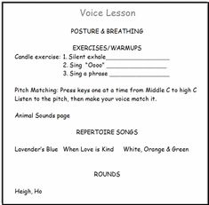 How to teach voice lessons, when you are a beginning teacher? Get some tips to quell your fears at this new venture!