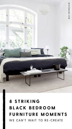 8 Striking Black Bedroom Furniture Moments We Canu0027t Wait To Re Create