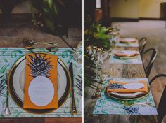 pineapple menu