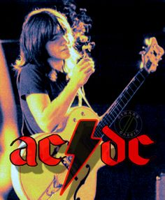 Music Love, Rock Music, My Music, Rock And Roll Bands, Rock N Roll, Malcolm Young, Ac Dc Rock, Rock And Roll Fantasy, Bon Scott