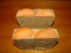 Body Scrub Soap with Lemon Peel