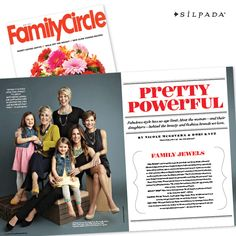 "Our Commanders in Chic were featured in @familycirclemag's May issue! Be sure to pick up a copy and read how Bonnie, Teresa, Kelsey and Ryane are ""Pretty Powerful!"" #SilpadaStyle"