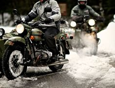 Sidecars & Snow: A Mountain Ride with Ural Motorcycles « Gear Patrol
