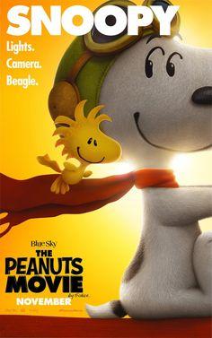 PIPOCA COM BACON I Aprenda a Desenhar: Snoopy & Charlie Brown - Peanuts, O FIlme I #PipocaComBacon I The_Peanuts_Movie_Snoopy_and_Woodstock_poster