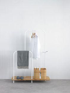 Mao sala de estar del dormitorio perchas para colgar la - Burra para colgar ropa ...