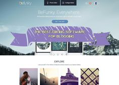 The best editing software for blogging: BeFunky