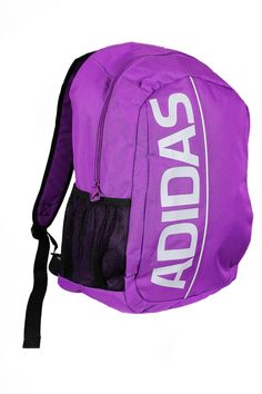 Adidas LIN ESS Backpack Book Bag in Purple (X18378)