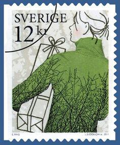 Knitting Swedish Stamps
