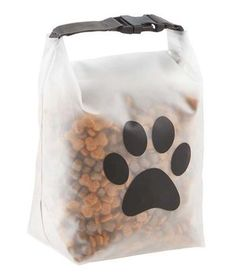Why didn't someone think of this sooner? Our Reusable Pet Food Storage Bag makes it a snap to take your pet's favorite food or snacks to the doggie daycare, gro Pet Food Storage, Bag Storage, Storage Ideas, Game Mode, Dog Travel, Dog Daycare, Cat Food, Dog Supplies, Party Supplies