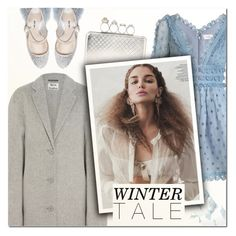 """""""Winter Tale"""" by vampirella24 ❤ liked on Polyvore featuring Acne Studios, Miu Miu, Zimmermann, Alexander McQueen and Alpine"""