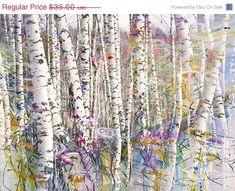 ON SALE Landscape Abstract Art Modern Art  Art by ImagineStudio, $24.50
