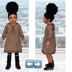 (Toddler) by Simlocker Sims 4 Toddler Clothes, Sims 4 Cc Kids Clothing, Sims 4 Mods Clothes, Sims Mods, Toddler Outfits, The Sims 4 Skin, The Sims 4 Pc, Sims 4 Teen, Sims Cc