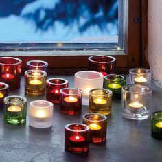 KIVI Collection for tea lights by ittala - various colors and two sizes