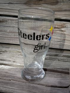 Pittsburgh Steelers Girl Beer Pilsner by osewcutedesigns on Etsy