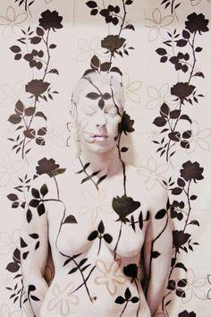 Body paint.  Modelo: Alba Montserrat  Maquillaje: Naroa Poulin