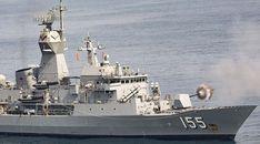 HMAS Ballarat on live-fire exercise with China's navy