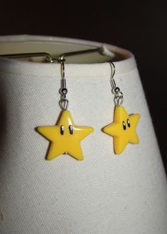 Super Mario Sunshine earrings