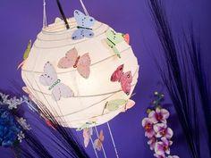 FREE Ideas : Artbeads.com - Emperor's Landing Butterfly Lantern