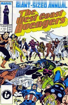 West Coast Avengers Annual # 2 by Al Milgrom