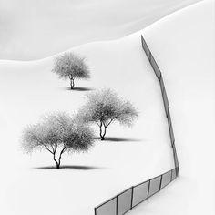 Minilamist Long Exposure Black and White Photography – Fubiz Media