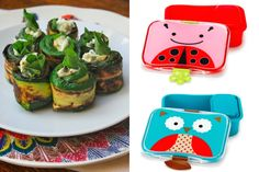 Zucchini rill ups with lunchbox- 9 Healthy Lunch Trends for Kids, From Paleo to Pocket Pasta - ParentMap