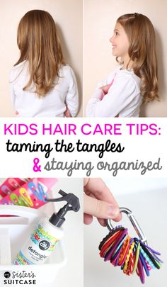 Kids Hair Care Tips:
