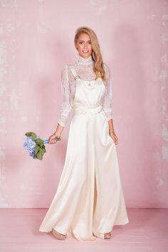 c9385590ee6 Wedding jumpsuit by Belle   Bunty 2017 Collection Wedding Jumpsuit