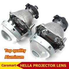 3.0 Inch Bi Xenon Hella Koplamp Projector Lens Aluminium Auto Hid Koplamp Wijzigen D2S Reflector Hoge dimlicht