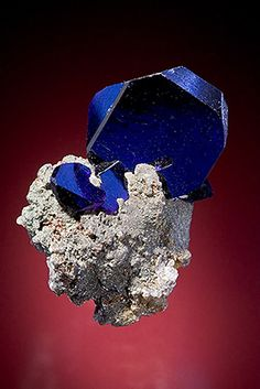 Azurite from Tsumeb mine, Tsumeb, Namibia                                                                                                                                                                                 More